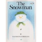 英文原版绘本 The Snowman 雪人 大开本版 圣诞节 Raymond Briggs 亲子读物