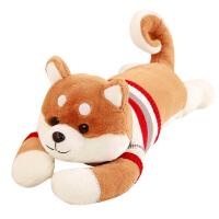毛绒公仔娃娃送女生 布娃娃大号可爱毛绒玩具狗狗女生日礼物柴犬床上抱枕