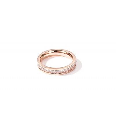 欧美气质钛钢镀18k玫瑰金戒指女日韩潮时尚食指环中指情侣闺蜜 发货周期:一般在付款后2-90天左右发货,具体发货时间请以与客服协商的时间为准