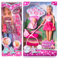 仙霸原装进口仿真洋娃娃生宝宝孕妇怀孕娃娃儿童女孩玩具娃娃 原装进口