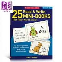 【中商原版】学乐25个读写单词练习 25 Read&Write Mini-Books 英语单词学习 家庭练习册 Scho