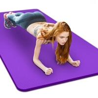 瑜珈垫毯子初学者瑜伽垫加厚加宽加长女男士防滑瑜珈垫毯健身垫子