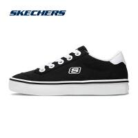 【*注意鞋码对应内长】Skechers斯凯奇女鞋新款绑带低帮帆布鞋 平底休闲鞋 66666132