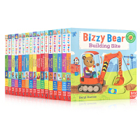 英文原版绘本17册小熊很忙系列 Bizzy Bear: Train Driver/DIY Day 机关操作玩具纸板书