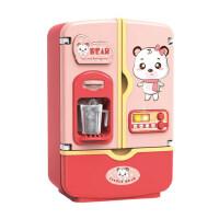 儿童过家家迷你小家电冰箱仿真小厨房玩具女孩玩具做饭套装双开门