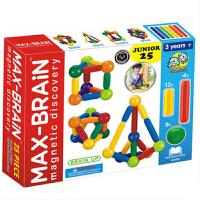 磁力棒�和�益智玩具拼�b�e木智力吸�F磁�F3-6-8周�q