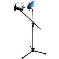 蛇蝎龙 落地手机支架 录音话筒支架 平板电脑MV支架 落地Mv支架