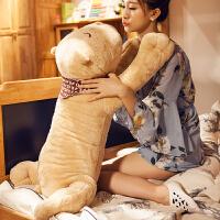 睡觉抱枕公仔抱抱熊布偶长条枕头儿童可爱萌娃娃男生