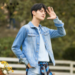 森马牛仔外套男2018春季新款男士帅气夹克韩版学生衣服潮流男装