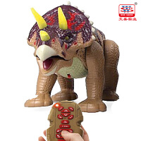 遥控恐龙玩具 儿童电动仿真动物模型会走路的玩具