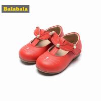 巴拉巴拉童鞋女童公主鞋2018春季新款透气皮鞋儿童小童宝宝鞋子女