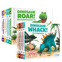 恐龙押韵 系列8本 英文原版绘本 3-5岁探索世界 亲子共读宝宝低幼启蒙图画书