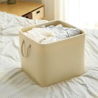 布艺收纳桶大号衣物整理收纳箱储物箱衣柜内收纳卧室收纳