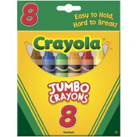 绘儿乐crayola 儿童16色可水洗彩色大蜡笔绘画工具画画蜡笔