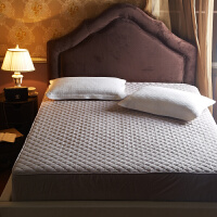 纯棉床笠单件全棉夹棉棕垫保护套加厚防滑1.8m米床垫套双人