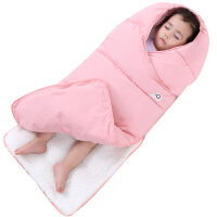 婴儿睡袋宝宝棉被新生儿用品包被防踢被宝宝抱被秋冬加绒加厚款