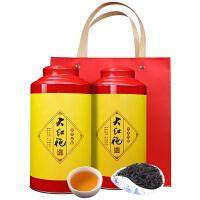 【10.12送品�b�b】新茶大�t袍茶�~武夷�r茶大�t袍肉桂茶 茶�~散�b�觚�茶�Y盒�b500g