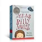 顺丰发货 英文进口原版The Year of Billy Miller 比利-米勒的一年 纽伯瑞银奖小说 青少年课外阅