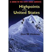 【预订】Highpoints of the United States: A Guide to the