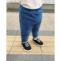 婴童装宝宝秋装3岁儿童女童牛仔裤长裤百搭婴儿弹力打底裤