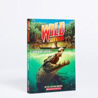 英文原版 Crocodile Rescue Wild Survival 1 鳄鱼救援野外生存1 生活野生动物侦探冒险儿童