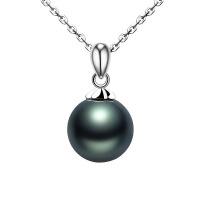 大溪地仿珍珠项链吊坠 女正圆微暇送老婆送妈妈母亲节礼物