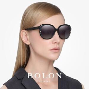 BOLON暴龙太阳镜女明星同款潮流墨镜时尚圆脸个性蝶形眼镜BL2511