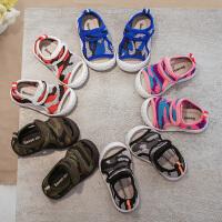 夏季宝宝学步鞋男女童透气凉鞋婴儿布鞋公主网鞋