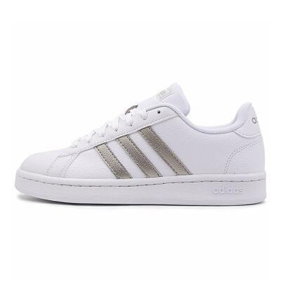 adidas/阿迪达斯 女款 2019年夏季新款 休闲小白鞋 低帮运动透气 板鞋 F36485