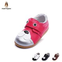 暇步士童鞋2017年新款幼儿皮鞋真皮皮鞋男女童学生鞋DP9047