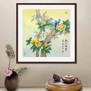 《金玉满堂》张一娜 中国书画家协会一级美术师R2568(画心发货)