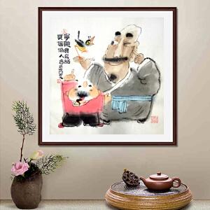《宁听真鸟语 莫信伪人言》吴元 山西漫协副会长 新华社签约画家21