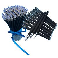 中性笔芯0.5mm全针管水笔芯0.38学生用蓝红黑色笔芯女替芯文具包