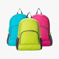 当当优品 韩版可折叠双肩背包 便携式户外旅行包