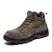 秋季新款徒步鞋马丁靴男高帮鞋英伦潮流工装靴子男休闲短靴