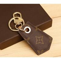 汽车钥匙扣挂件钥匙链真皮钥匙扣男女士创意lv钥匙扣情侣礼品
