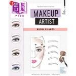 【中商海外直订】Makeup Artist Brow Charts