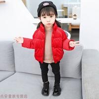 冬季儿童金丝绒女童男童棉衣新款时尚韩版棉袄保暖立领外套秋冬新款