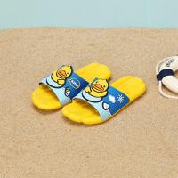 【大促价:29.5】B.Duck小黄鸭童鞋儿童拖鞋夏季新款男女童家居凉拖鞋软底防滑B1175385