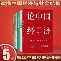 林毅夫作品套装5册论中国经济挑战底气与后劲+解读中国经济:解读新时代的关键问题+供给侧结构性改革+本体与常无+改革的追问