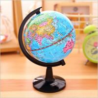 得力正品小号地球仪学生用10.6cm教学专用儿童摆件早教玩具高清地图地球仪3031