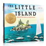 进口英文原版绘本 The Little Island 凯迪克金奖绘本 小岛 儿童绘本图画书 Matthew MacDo