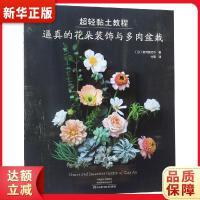 超轻黏土教程:逼真的花朵装饰与多肉盆栽 宫井由纪子,付�B 9787534994883 河南科学技术出版社