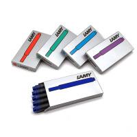 德国LAMY凌美钢笔墨胆墨囊墨水芯T10一次性笔芯原装正品