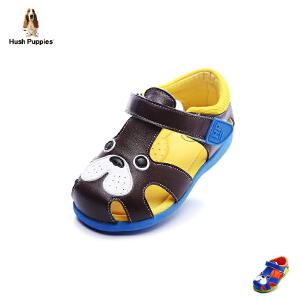 【179元任选2双】暇步士童鞋2017年春夏新款男童真皮羊皮凉鞋小童包头鞋 DP9052