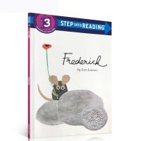 【全店300减100】英文原版儿童绘本 田鼠阿佛 Frederick 英文版 Step Into Reading Lev