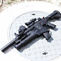 求生儿童玩具枪HK416 满配M416电动连发*水蛋抢绝地模型