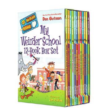 疯狂学校第三季12册盒装 英文原版小说 My Weirder School 校园题材经典 初级章节桥梁书 美国小学推荐课外阅读读物 漫画书 中小学生课外读物