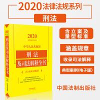 中华人民共和国刑法及司法解释全书(含立案及量刑标准)(2020年版) 中国法制出版社