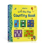 顺丰发货 英文原版 Usborne Lift The Flap Counting Book 亲子互动 幼儿数字启蒙纸板